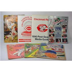 Lot Of Vintage Baseball Programs And Yearbooks - I
