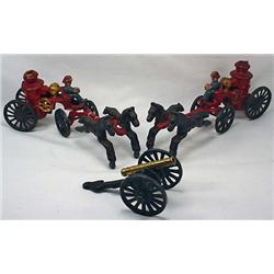 Lot Of Cast Iron Toys