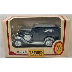 Ertl Die Cast 1932 Ford Panel Delivery Bank In Ori