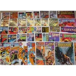 Large Lot Of Comic Books - Incl. Starman, Hawkman,