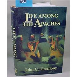 """C. 1991 """"Life Among The Apaches"""" Hardcover Book -"""
