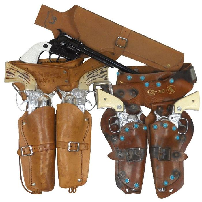 By Photo Congress || Toy Western Guns With Holsters