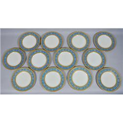 A Set of Twelve Bavarian Hutchenreuther Dinner Plates.