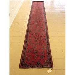 An Antique Turkish Wool Runner.