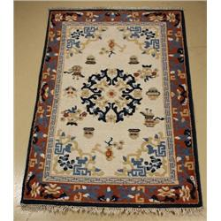 An Indo Chinese Peking Wool Rug,