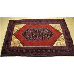 An Antique Karabagh Caucasian Wool Rug.