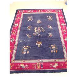A Chinese Peking Wool Rug.