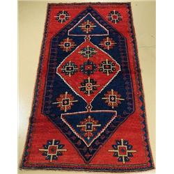 An Antique Caucasian Kazak Wool Rug.