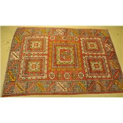 An Antique Turkish Bergama Wool Rug.