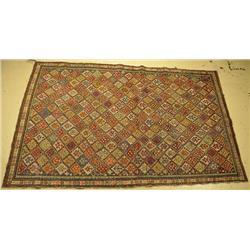 An Antique Caucasian Shirvan Wool Rug.