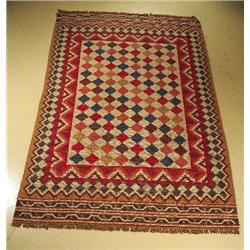 A Sino Persian Kilim Wool Rug.