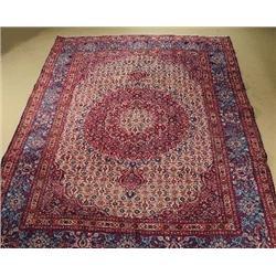 A Persian Mood Khorasan Wool Rug.