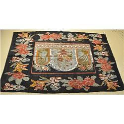 An Antique European Kilim Wool Rug.