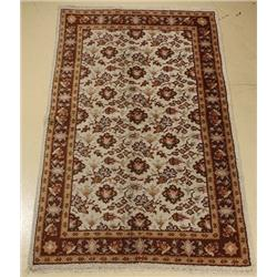 A Semi Antique Moroccan Wool Rug.