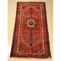 A Persian Zanjan Wool Rug.