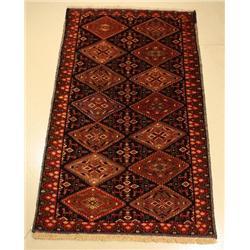 A Persian Khorasan Wool Rug.