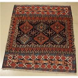A Persian Khorasan Wool Rug,