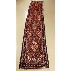 A Persian Hamadan Wool Runner.