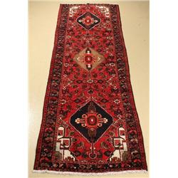 A Persian Zanjan Wool Runner.
