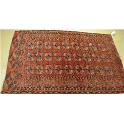 An Antique Turkoman Caucasian Wool Rug.