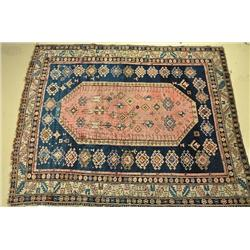 An Antique Shirvan Caucasian Wool Rug.