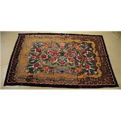 An Antique European Kilim Wool Rug.