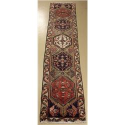 A Persian Mahal Wool Runner.