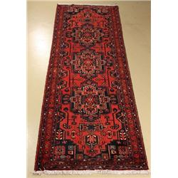 A Persian Malayer Wool Runner.