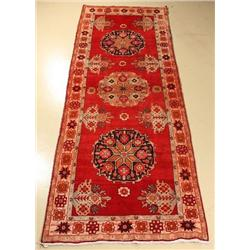 A Semi Antique North Western Persian Wool Runner.