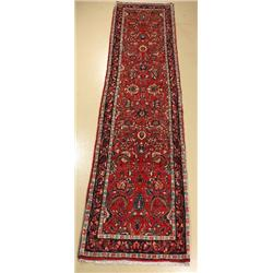 A Persian Sarouk Wool Runner.