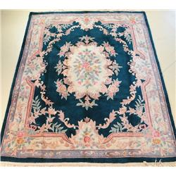 A Chinese Wool Rug.