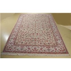 A Sino Persian Tabriz Wool Rug.
