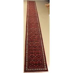 A Persian Shossein Abad Wool Runner.
