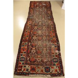 An Antique Persian Bakhtiari Wool Runner.