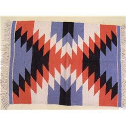 A Handmade Kilim Wool Rug.
