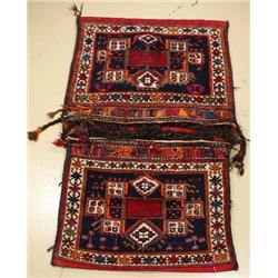 A Persian Varmian Wool Saddle Bag.
