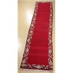 A Persian Tabriz Wool Runner.