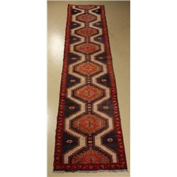 A Persian Karajeh Wool Runner.