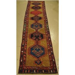 An Antique Persian Serab Wool Runner.