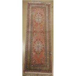 An Old Turkish Kayseri Wool Runner.