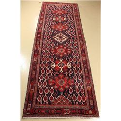 A Persian Afshar Wool Runner.