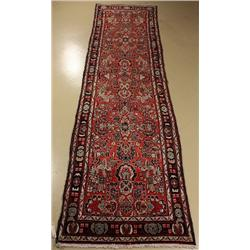 A Persian Dargazine Wool Runner.