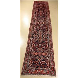 A Persian Lilihan Wool Runner.