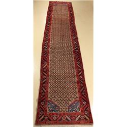 A Persian Kurd Wool Runner.