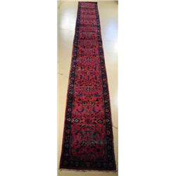 An Antique Turkoman Sparta Wool Runner.