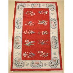 A Bessarabian Kilim Wool Rug.