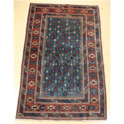 A Semi Antique Caucasian Wool Rug.