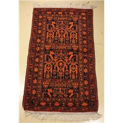 A Persian Baluch Wool Rug.