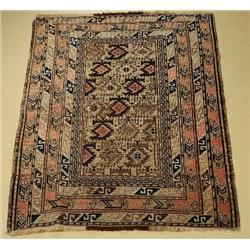 An Antique Caucasian Shirvan Wool Rug.