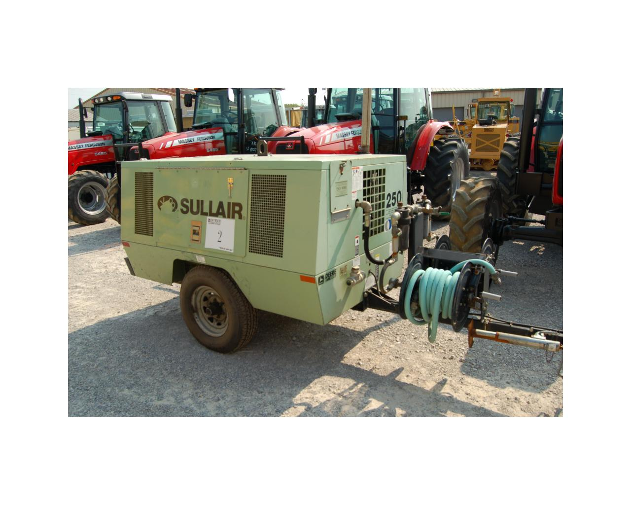Sullair 250 Cfm Air Compressor